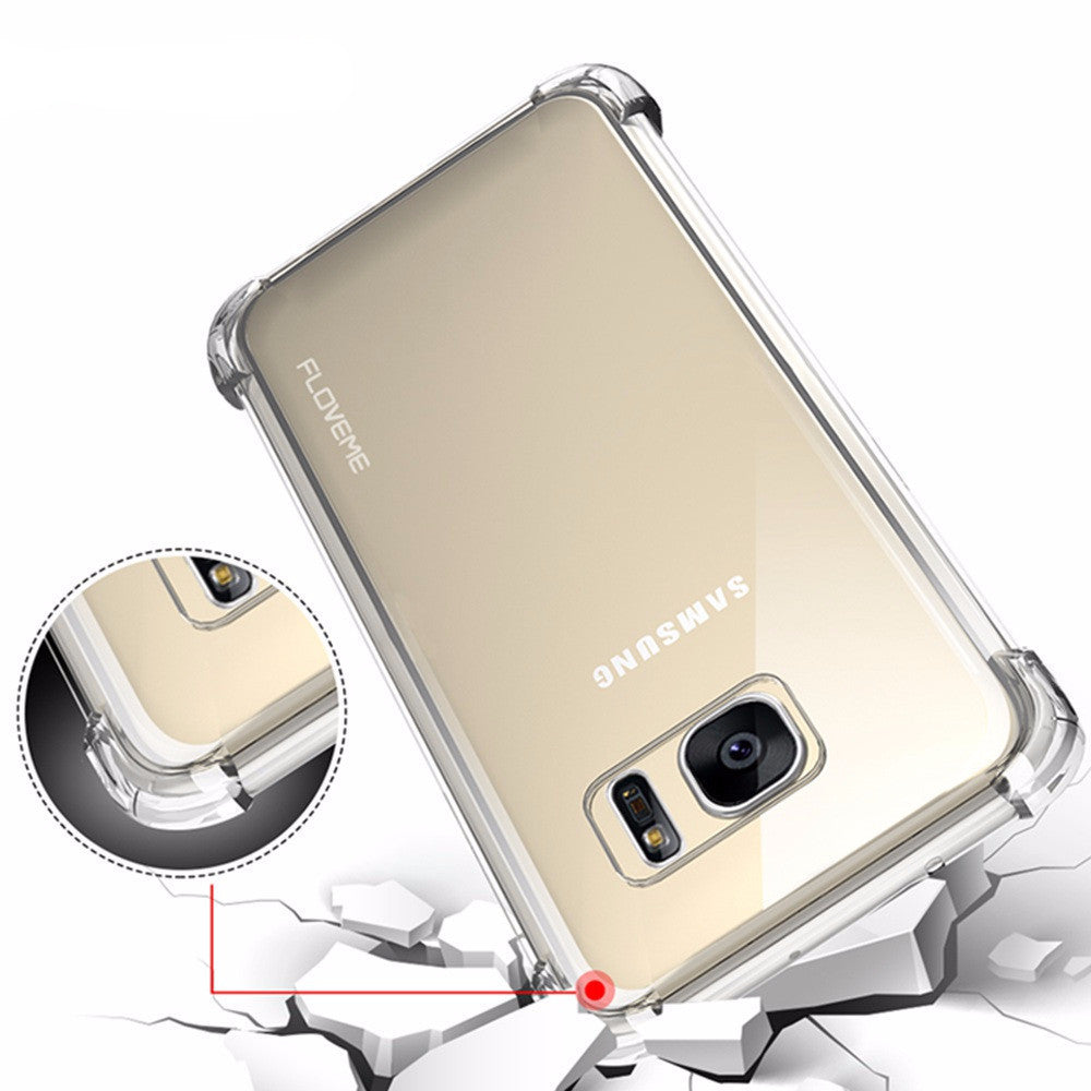 Ultra Thin Clear Transparent Soft TPU Back For Samsung Galaxy - Bestshopup