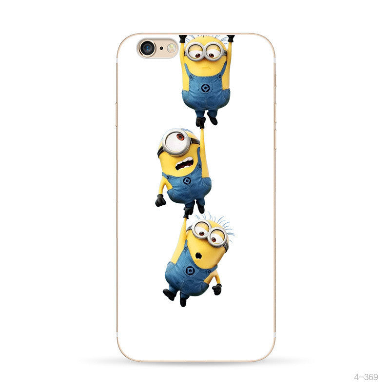 Despicable Me Yellow Minion Design Silicone Case For Apple Iphone - Bestshopup