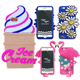 3D Back Cover Skin Silicone IPhone Cases - Bestshopup