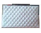 Women's Casual Envelope Leather Lattice Clutch - Bestshopup