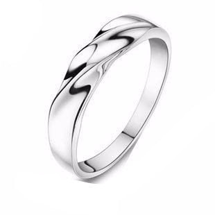 Men's & Women's Couples Finger Ring on 3 Layer Platinum Plated - Bestshopup