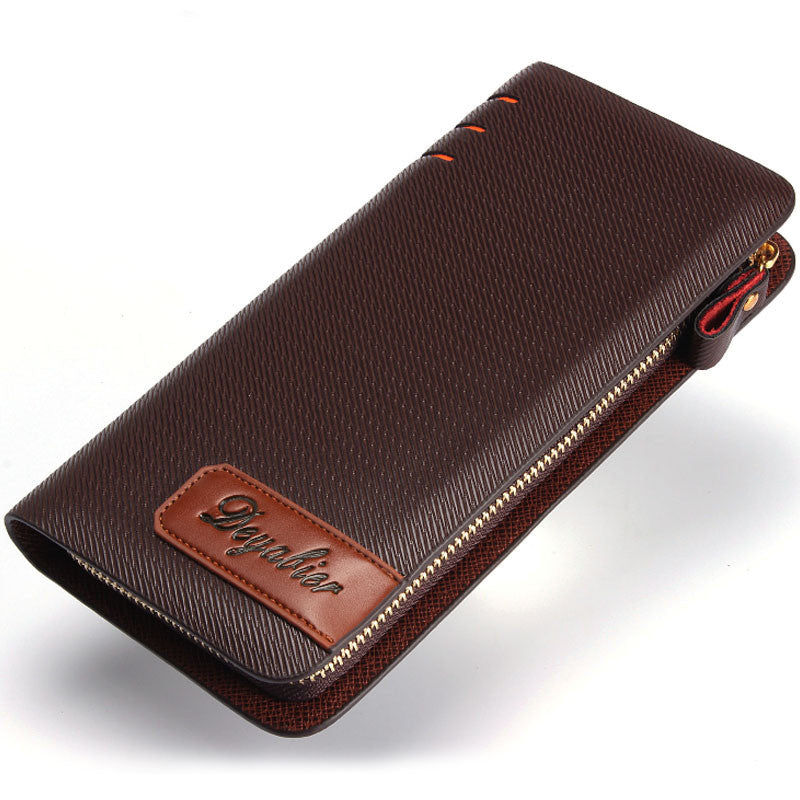 Men's Casual Large-Capacity Business Wallet - Bestshopup