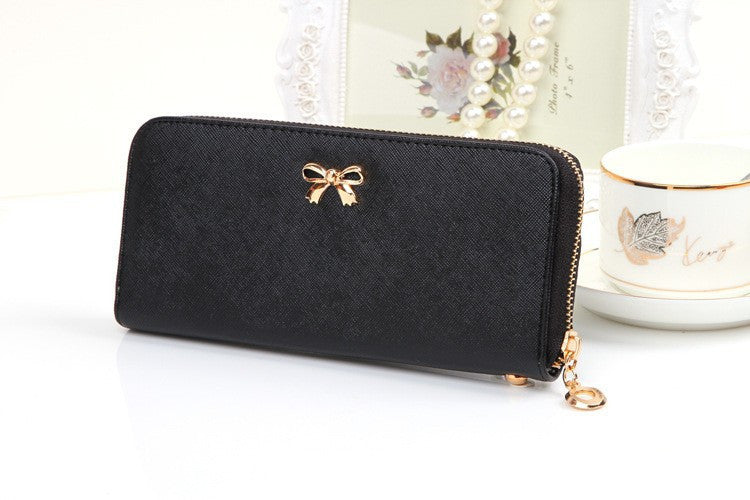 Women's Disom PU Leather Long Wallet - Bestshopup