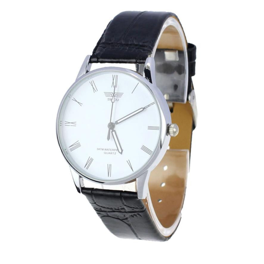 Men's Fashion&Casual Luxury Elegant Leather Watch - Bestshopup