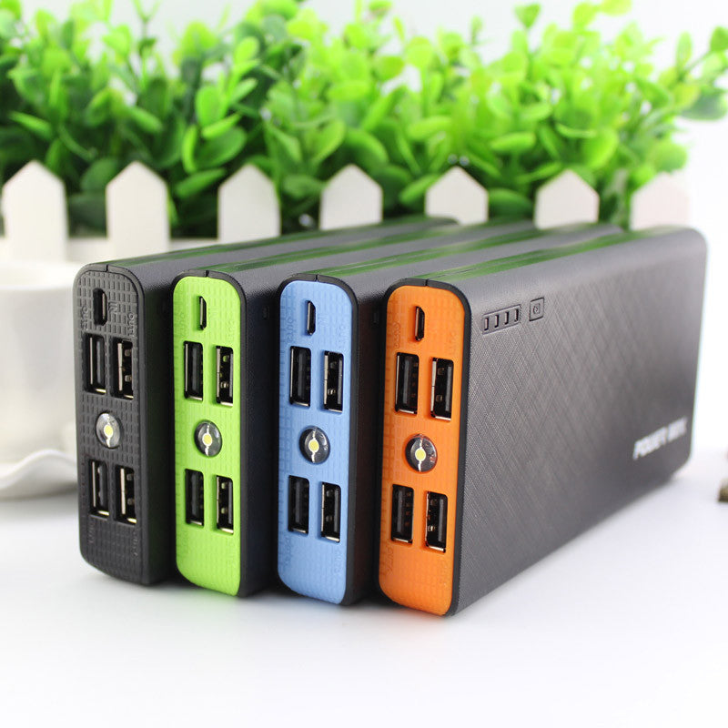20000mAh 4 USB Powerbank Portable Charger External Battery - Bestshopup