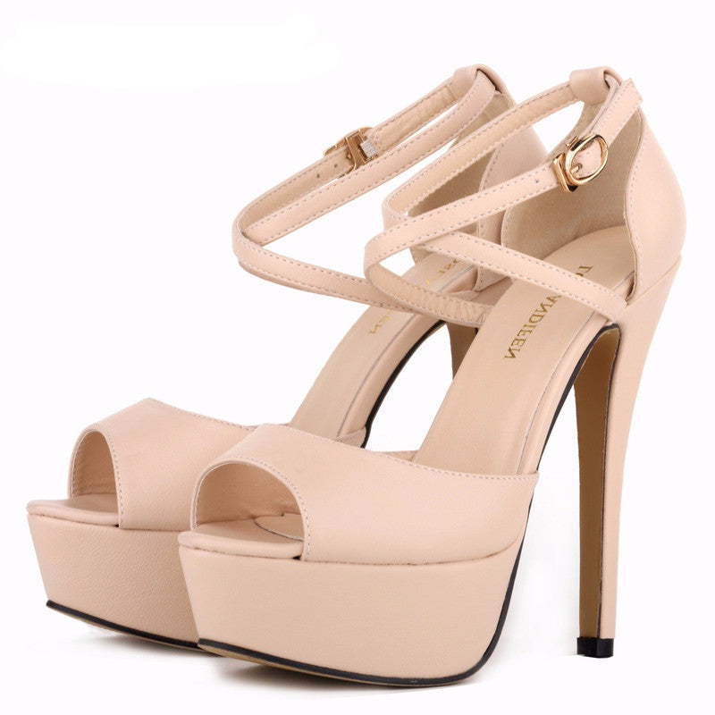Women's Ultra Fashion Bride High Heel Matt Pumps - Bestshopup