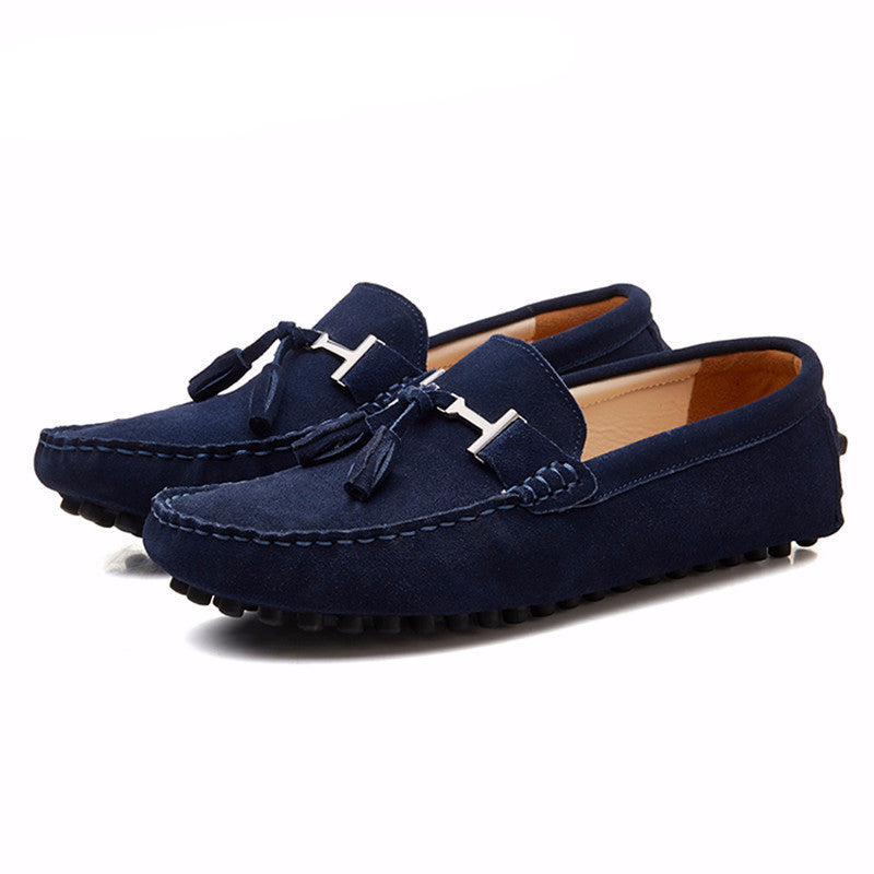 Men's Loafers Driving Peas Shoes Fashion Casual Shoes - Bestshopup
