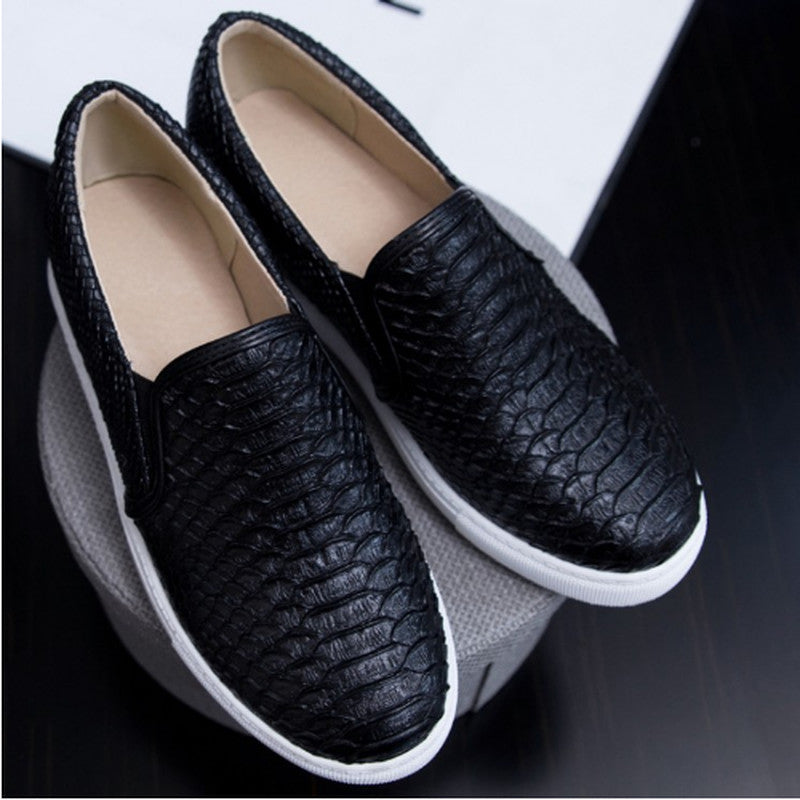 Women's Casual Retro Round Toe Platform Slip On Flats - Bestshopup