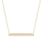 Women's Punk Square Bar Necklace Geometric Jewelry - Bestshopup