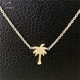 Women's  Simple Palm Tree Necklaces - Bestshopup