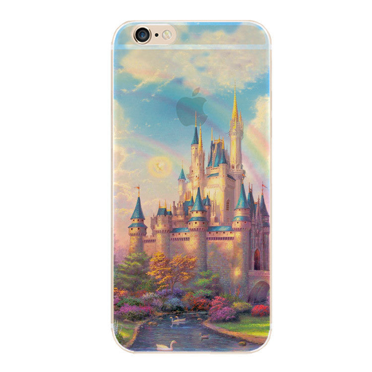 Ultra Thin Soft Silicone Beautiful Scenery Phone Case - Bestshopup