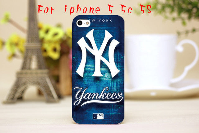 NY New York Yankees Luxury  Design Phone Transparent Cover Hard Shell - Bestshopup