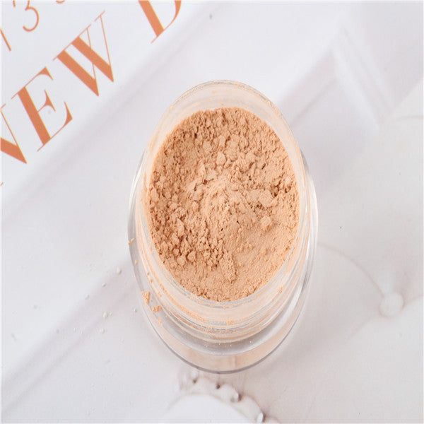 Beauty Makeup Face Powder Foundation Loose Mineral Cosmetic Natural Conceal - Bestshopup