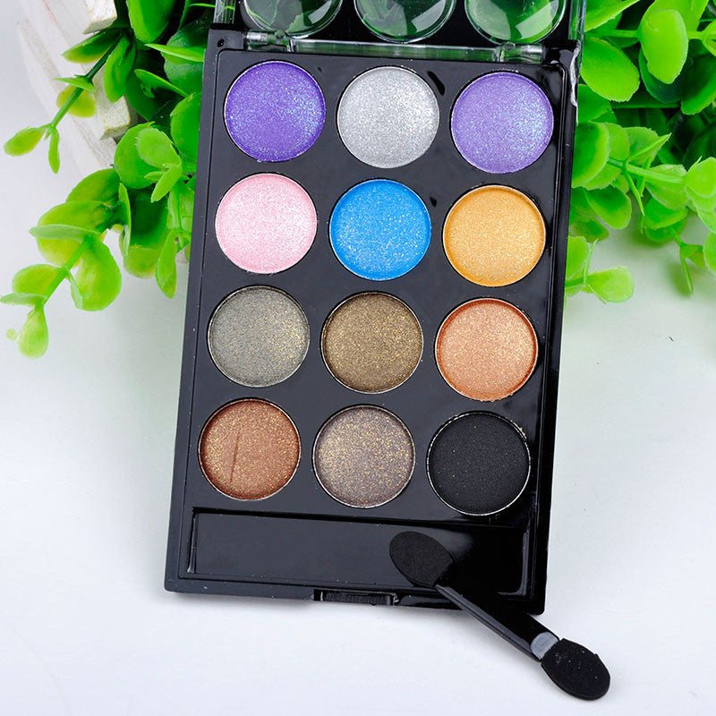 Eyeshadow Palette Tools Cosmetic 12 Colors - Bestshopup