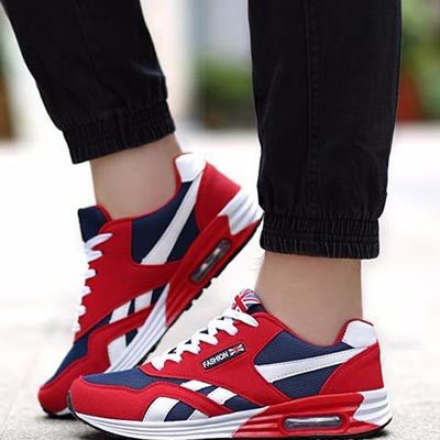 Men Casual Shoes Spring Autumn Mens Trainers Breathable Flats Walking Shoes - Bestshopup