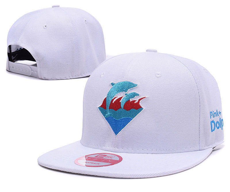 Fashion Pink Dolphin Baseball Caps P Leopard Men Snapback Embroidery Hip-Hop Adjustable Hats - Bestshopup