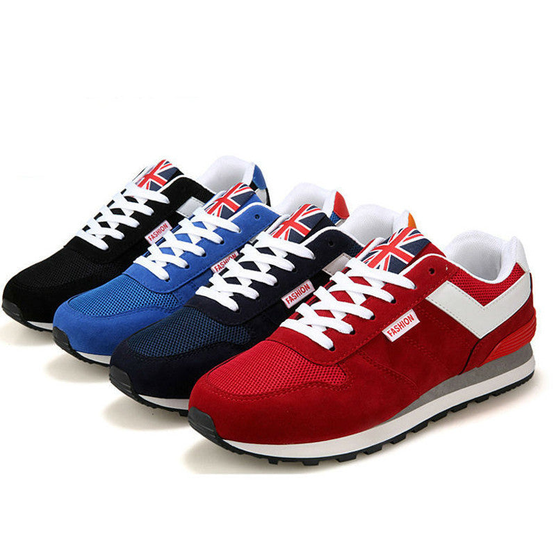 Men shoes Sport Fashion S neakers Casual Flats Breathable Active Shoes - Bestshopup