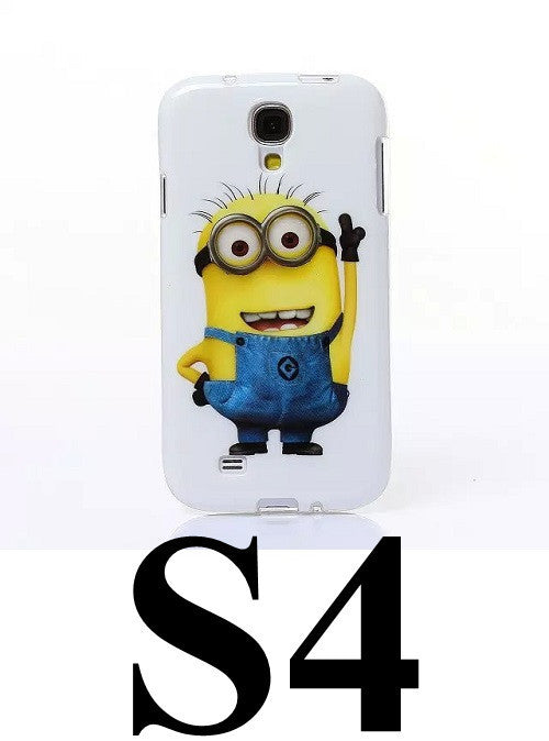 Samsung Case Despicable Me Minions Soft TPU Gel Cell Phone Cases - Bestshopup