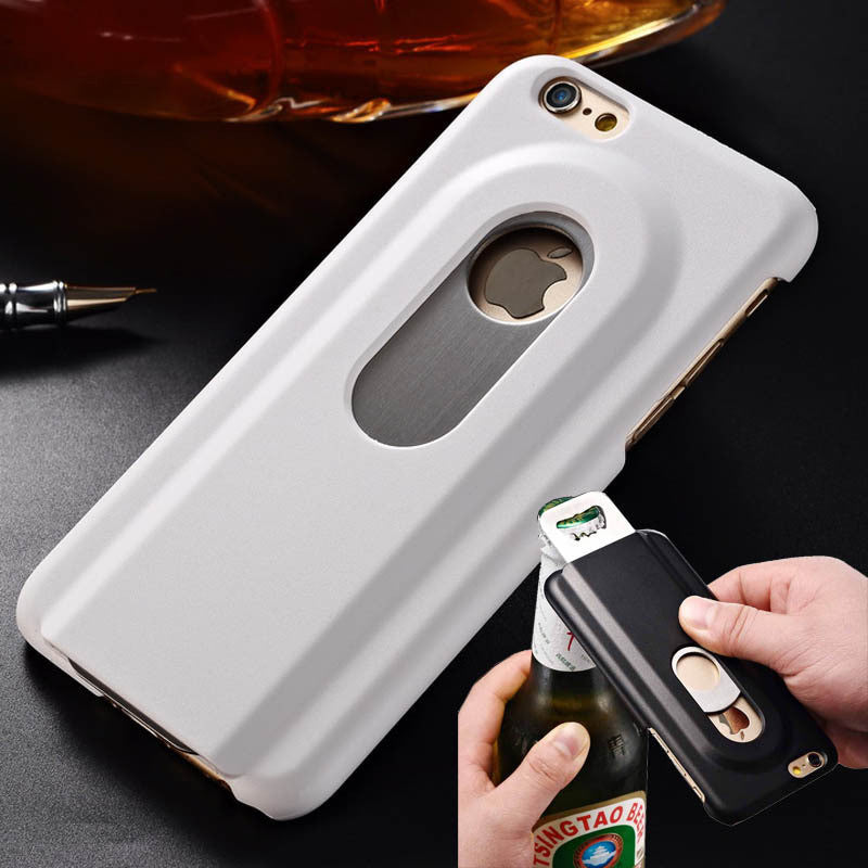 Beers Bottle Opener Stainless Steel Iphone Case - Bestshopup