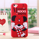 Cartoon Minnie Mouse Soft Silicone Phone Cases For Apple iPhone - Bestshopup