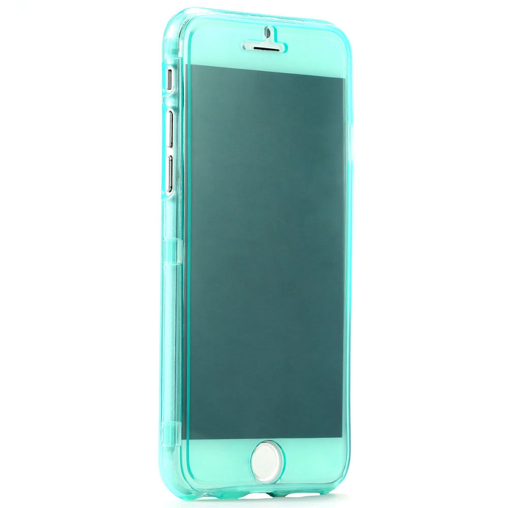 Ultra Thin Slim Clear Flip Case for Apple iPhone - Bestshopup