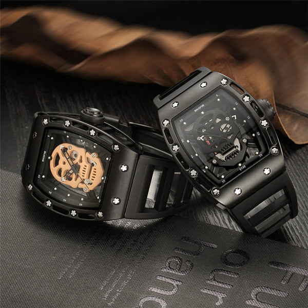 AmericanInfinity Awesome Skull Watch