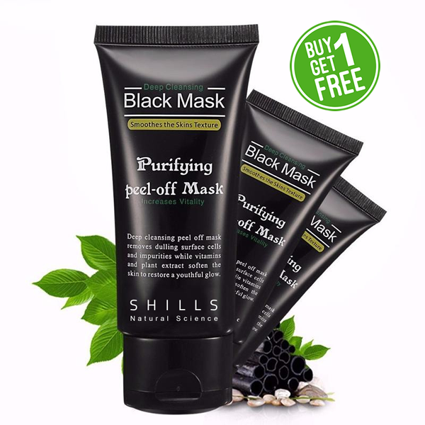 AmericanInfinity Purifying Blackhead Peel-off Black Mask