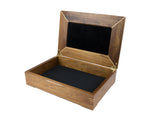 Wooden Document Box handcrafted from Tasmanian Blackwood & Walnut Burl veneer