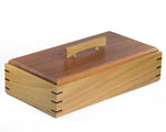 Elegant Wooden Keepsake Box handcrafted from Blackbutt & Jarrah