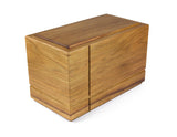 Wooden cremation urn handcrafted from Tasmanian Blackwood
