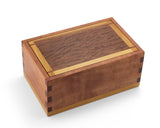 Wooden trinket box made from Tasmanian Myrtle