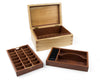 Wooden Jewellery Box with two trays handcrafted from Blackbutt and Jarrah