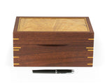 Jewellery Box handcrafted from Jarrah and Blackbutt