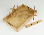Jewellery Box tray handcrafted from Tasmanian Oak