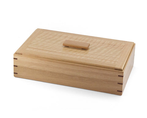 Wooden Keepsake Box handcrafted from Australian Blackbutt & figured Messmate