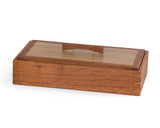 Wooden Keepsake Box handcrafted from Australian Red Cedar & PNG Walnut