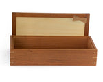 Wooden Keepsake Box handcrafted from Australian Red Cedar
