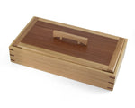 Wooden Keepsake Box handcrafted from Blackbutt & Jarrah