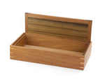 Wooden Keepsake Box handcrafted from Tasmanian Blackwood & Queensland Walnut