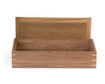 Wooden Keepsake Box handcrafted from Tasmanian Blackwood & Spotted Gum