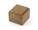 Small wooden trinket box handcrafted from Australian Spotted Gum