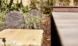 Sonos Outdoor Garden Rock Speaker Bundle - includes Sonos Amp and Cable - Brown