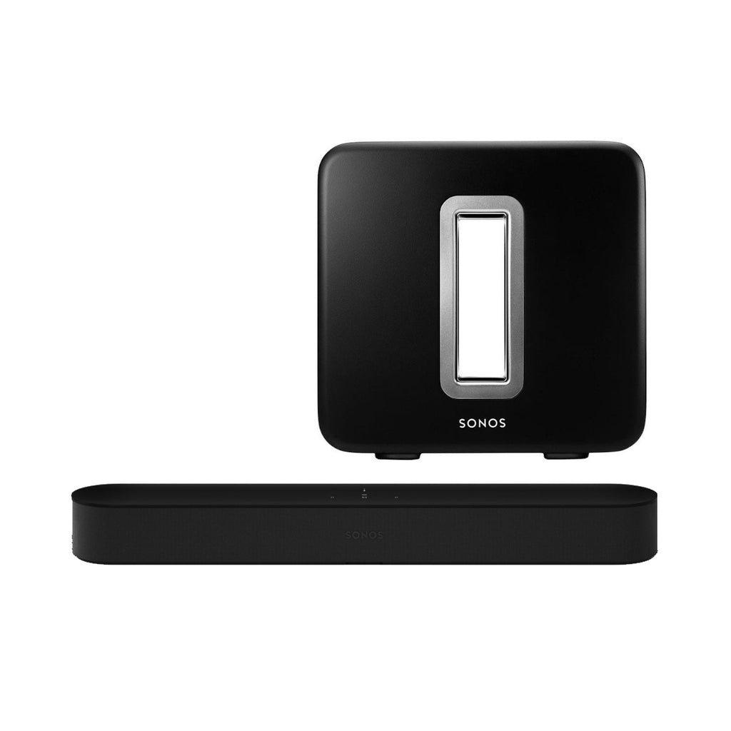 Sonos 3.1 Home Theatre Beam + Sub Pack Black