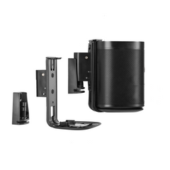 Sonos One Wall Bracket Black Pair