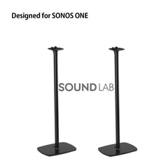 Sonos One Floor Stand Pair Black