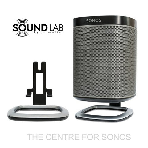 Sonos Play:1 Desk Stand (Pair) - Black