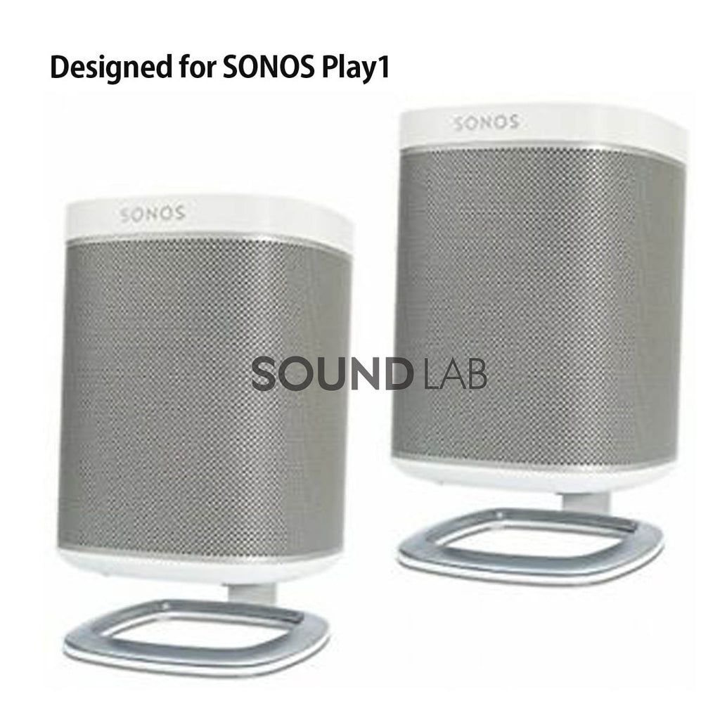 Sonos Play:1 Desk Stand Pair White