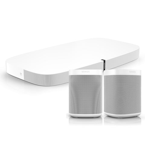 Sonos Playbase and 2 x Sonos One Bundle