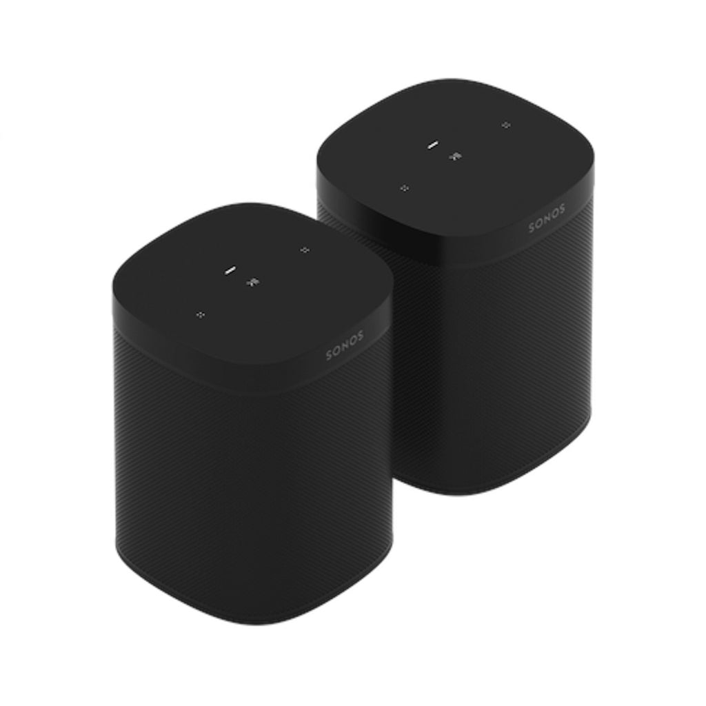 Sonos One SL Twin Bundle Black