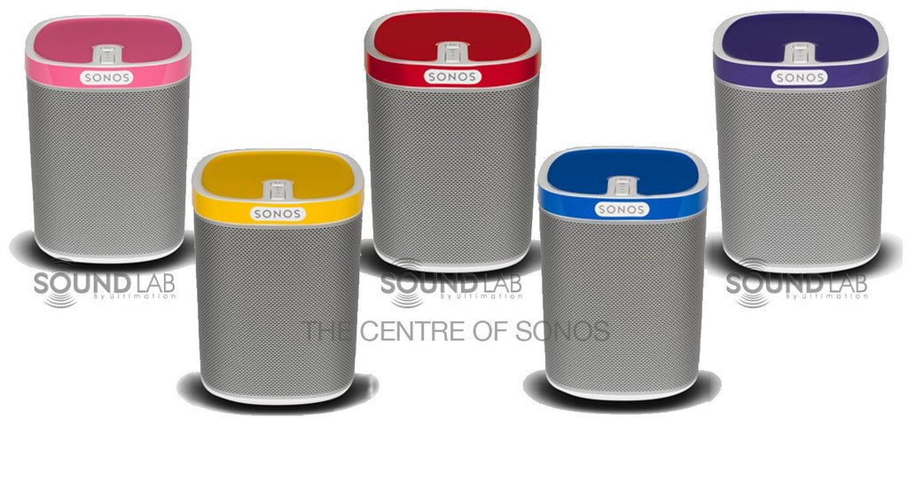 ColourPlay Covers for Sonos Play 1
